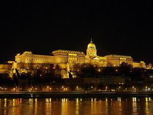 Večerní Budapešť, Foto: Wikipedia Commons