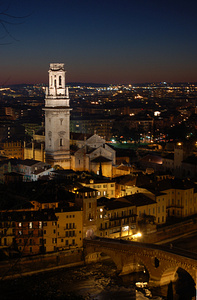 Večerní Verona, Foto: Wikipedia Commons