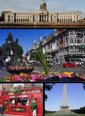 Pohlednice Dublinu, Zdroj: Wikipedia Commons