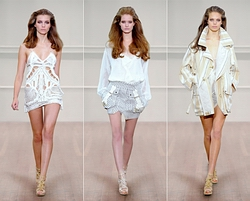 Kolekce Julien MacDonald na Fashion Weeku v Londn