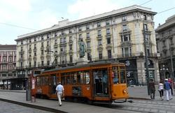 Historická tramvaj Miláno