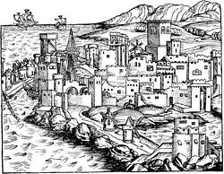 Historická malba Rhodosu, Zdroj: Wikimedia Commons