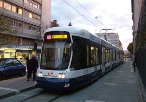 Hromadná doprava v Ženevě. Foto: Wikimedia